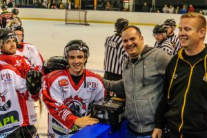 Barons Man of the Match (Andy Whitehouse)