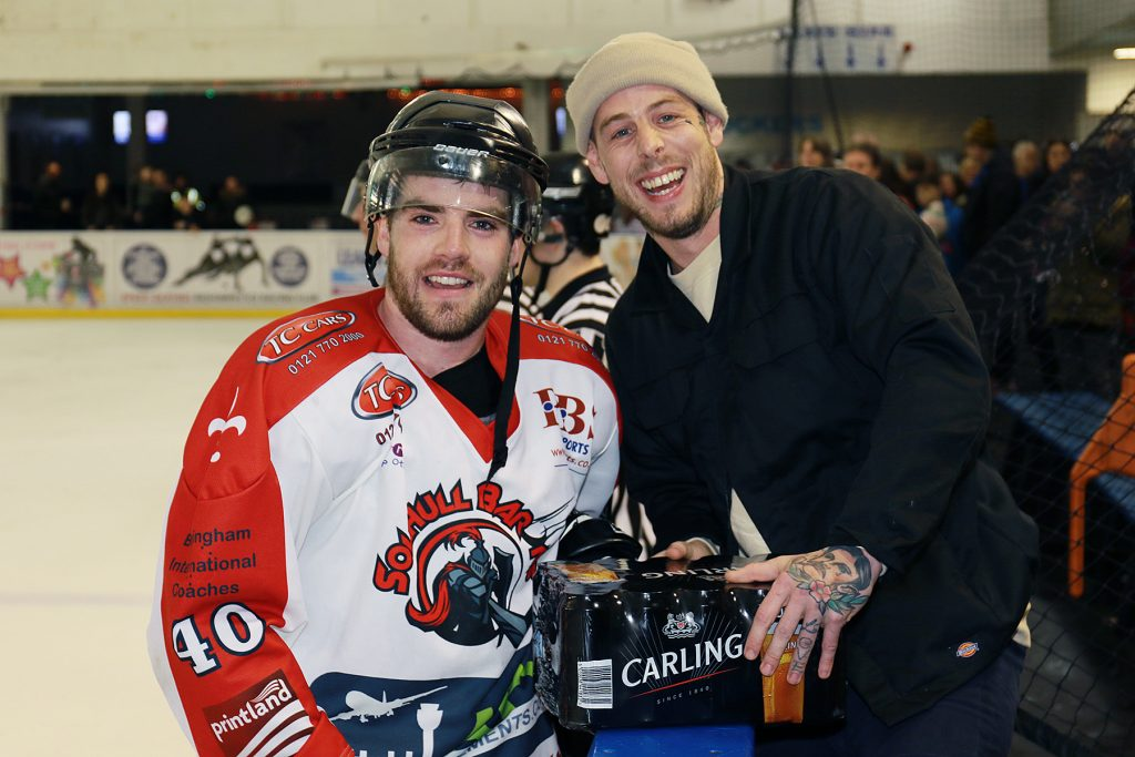 Barons Man of the Match Josh Bruce (Steve Crampton)