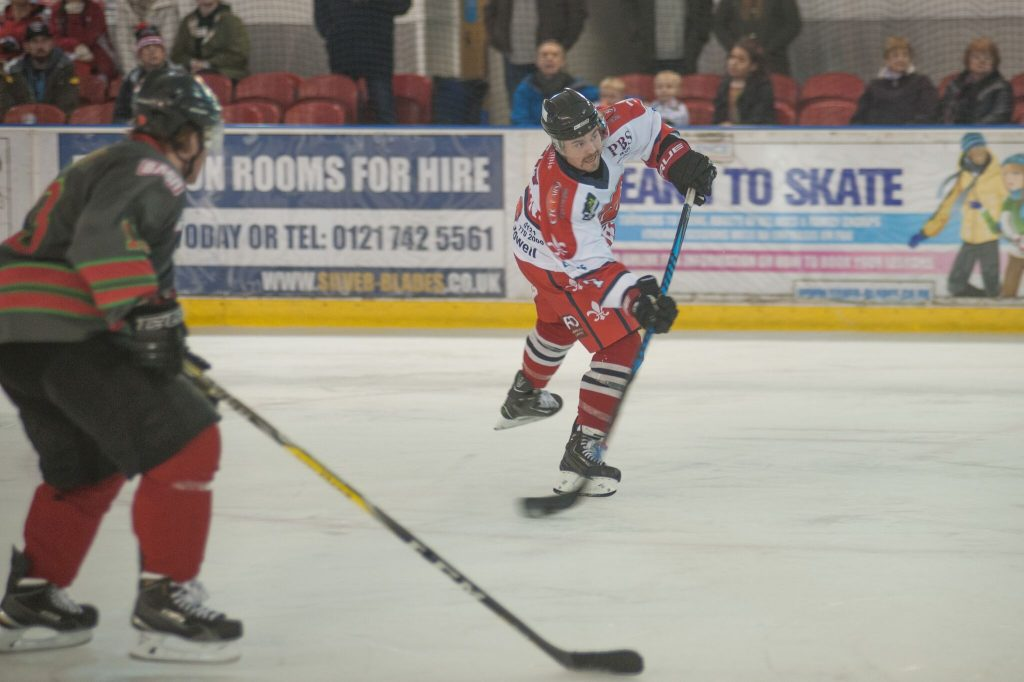 It was good to see Barons #7 Joe Henry back on the ice (Mike Burrowes)