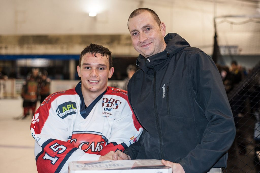 Barons Man of the Match, Matt Maurice (Mike Burrowes)