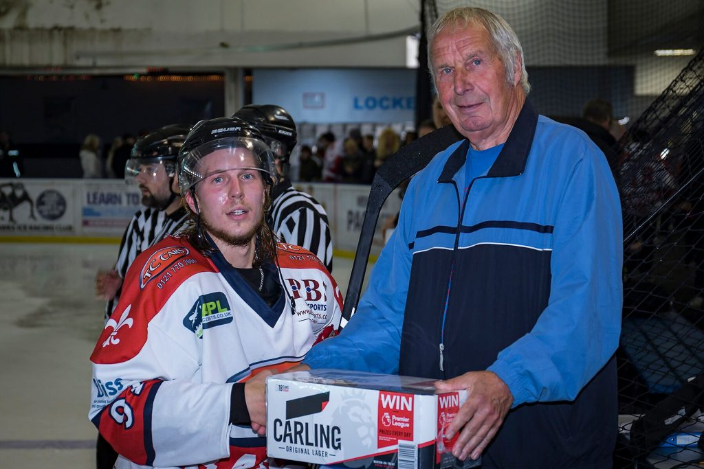 Barons Man of the Match, Niklas Ottsosson (S Crampton)