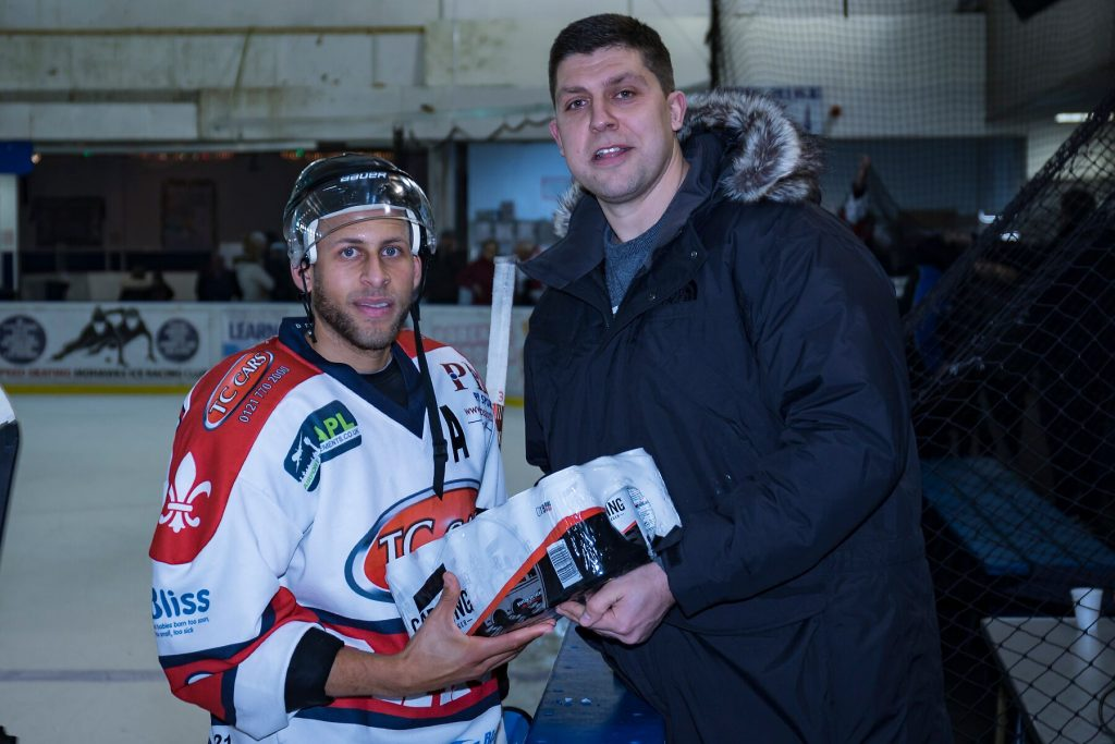 Barons Man of the Match, Marcus Maynard (Steve Crampton)