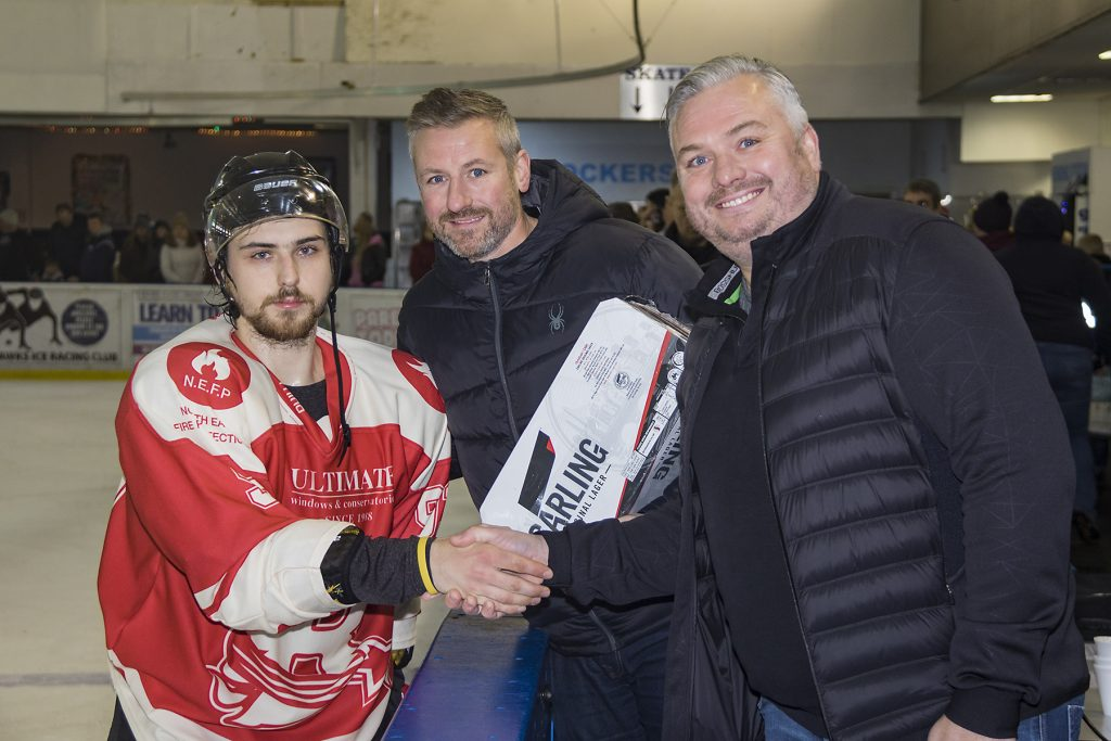 Stars Man of the Match, Deniss Baskatovs (S Crampton)
